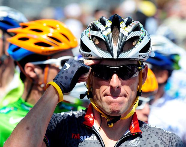 Disgraced cyclist Lance Armstrong has compared himself to Voldemort, the primary antagonist in the fictional Harry Potter novels, and issued a strong rebuttal to UCI president Brian Cookson's criticism of him as he prepares to go ahead with his ride of the Tour de France route