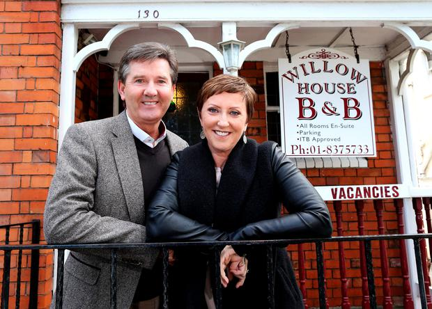 Pictured are Daniel and Majella O'Donnell at Willow House B&B, Drumcondra, Dublin 9.