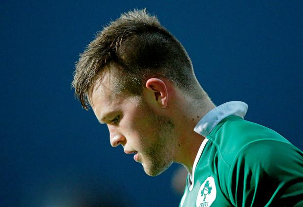 David O'Connor, Ireland, following his side's defeat