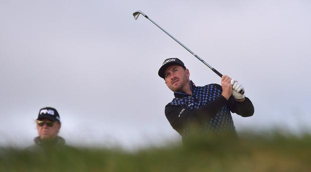 Graeme McDowell falls behind in a disappointing start at the St Jude Classic