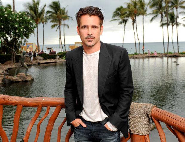 Actor Colin Farrell attends the Taste of Summer Opening Night Party during the 2015 Maui Film Festival at Grand Wailea on June 3, 2015 in Wailea, Hawaii. (Photo by Andrew Goodman/Getty Images for Maui Film Festival)