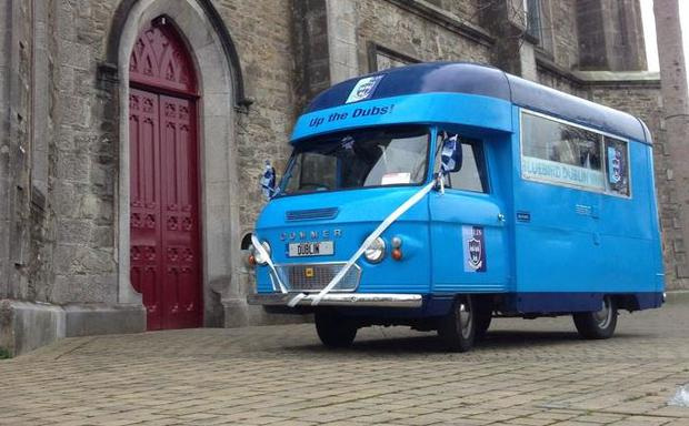Alan's beloved 'Bluebird Van' (Photo: Facebook/BlueBird Dublin Van)