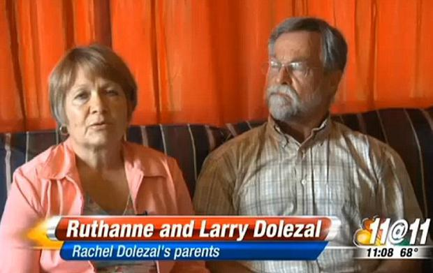 The parents of Rachel Dolezal claiming their daughter is white