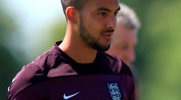 Theo Walcott expected to start for England against Slovenia tomorrow