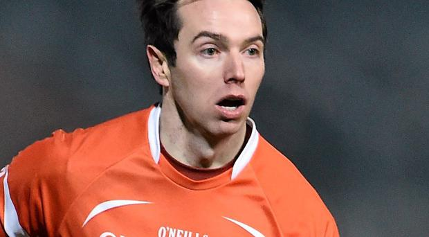 Tony Kernanin has trebled his starts for Armagh in the last two seasons