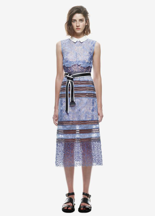 Self-Portrait dress, €385