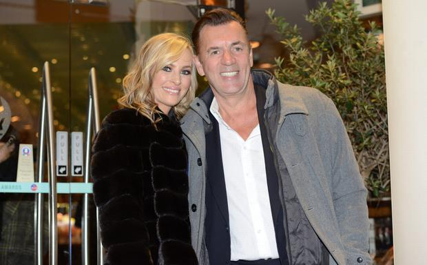 In happier time: Michelle Evans and Duncan Bannatyne