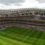 13 June 2015; A general view of the game. UEFA EURO 2016 Championship Qualifier, Group D, Republic of Ireland v Scotland, Aviva Stadium, Lansdowne Road, Dublin. Ramsey Cardy / SPORTSFILE