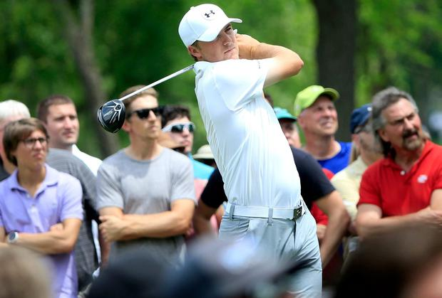 Jordan Spieth has already assessed what will be required at Chambers Bay. Photo: Sam Greenwood/Getty Images