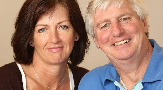 Michael Lyster with his wife Anne