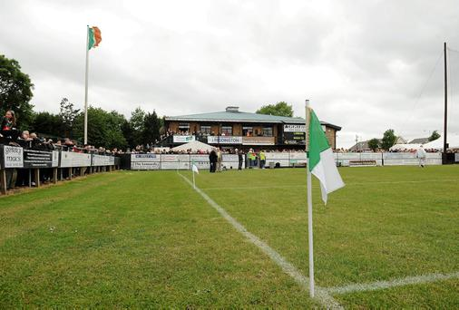 The Irish TV Grounds in Ruislip: €5m redevelopment. Photo: Brendan Moran / SPORTSFILE