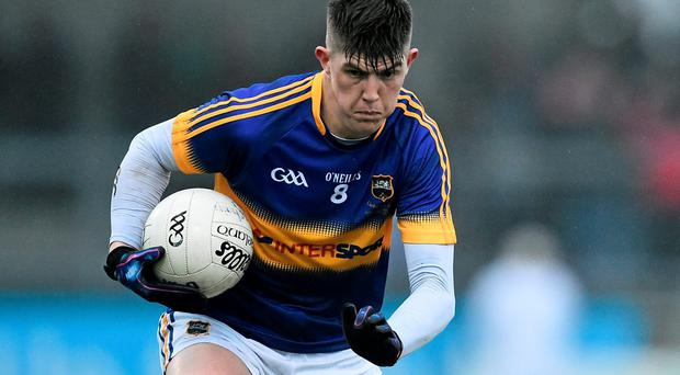 Steven O'Brien is a key man at midfield for Tipperary who hardly ever wastes a ball. Photo: Ramsey Cardy / SPORTSFILE