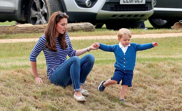 Brad and Angelina are said to have been joined at lunch by Prince George