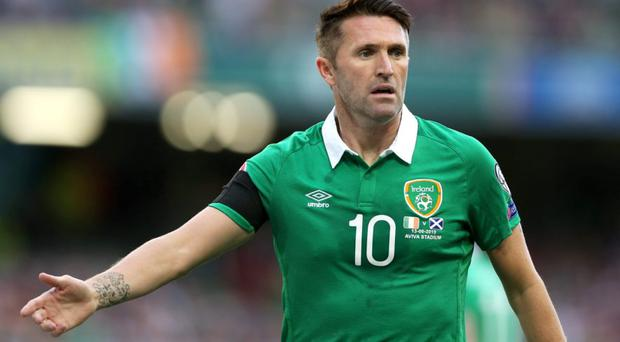 Football - Republic of Ireland v Scotland - UEFA Euro 2016 Qualifying Group D - Aviva Stadium, Dublin, Republic of Ireland - 13/6/15 Republic of Ireland's Robbie Keane Action Images via Reuters / Matthew Childs Livepic