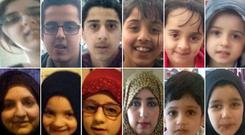 The 12 missing members of the Dawood family Credit: West Yorkshire