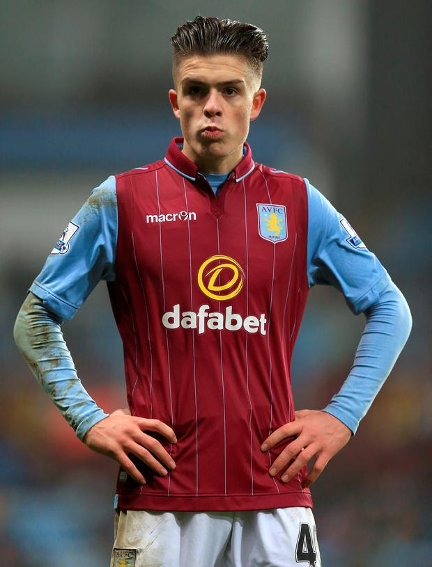 Jack Grealish had previously been reprimanded by Tim Sherwood after being photographed inhaling nitrous oxide