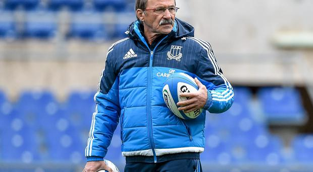 Italy head coach Jacques Brunel's World Cup preparations had been disrupted as his players have went on strike over bonus payments