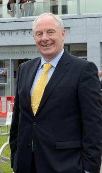 Sports Minister Michael Ring told a Mayo school FAI chief executive John Delaney is the best man for a loan