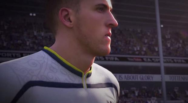 Harry Kane is featured in the trailer