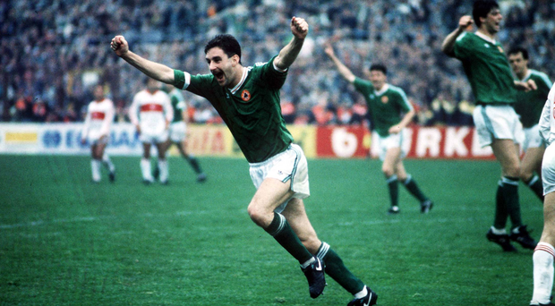 Republic of Ireland striker John Aldridge