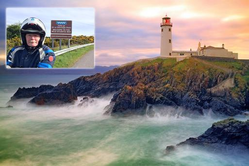 Captain Atlantic, and the Fanad Head Lighthouse. #WildAtlanticWay