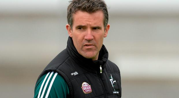 Kildare manager Jason Ryan.