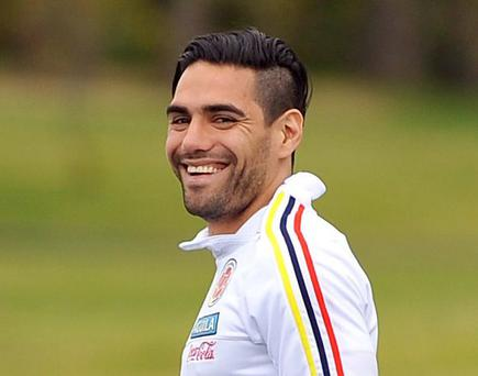 Radamel Falcao has taken a huge pay cut to join Chelsea on loan