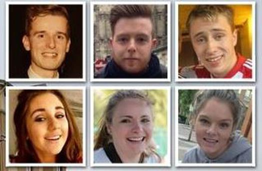 The six victims of the tragic Berkeley balcony collapse