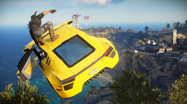 Just Cause 3 - Following the car's owner's manual exactly.