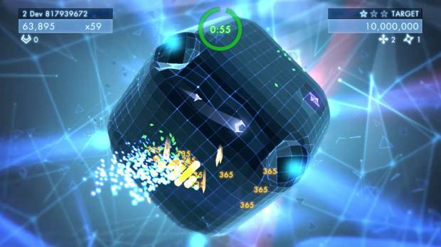 Geometry Wars 3: Dimensions – score attack is usually the name of the game