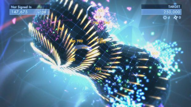 Geometry Wars 3: Dimensions – the monkey nut, my favourite