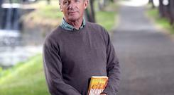 Jim Crace, whose book 'Harvest' is the winner of the 2015 International Impac Dublin Literary Award.