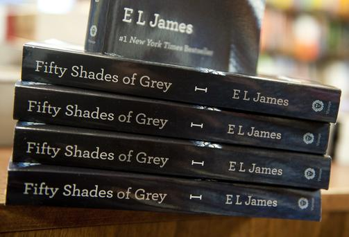 'Grey' is the latest title from EL James, whose 'Fifty Shades' trilogy was a publishing phenomenon, shifting more than 125 million copies worldwide