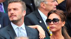 David Beckham has agreed to take a back seat this year so his wife Victoria can concentrate on her fashion career