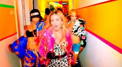 Madonna in her new video for 'Bitch I'm Madonna'