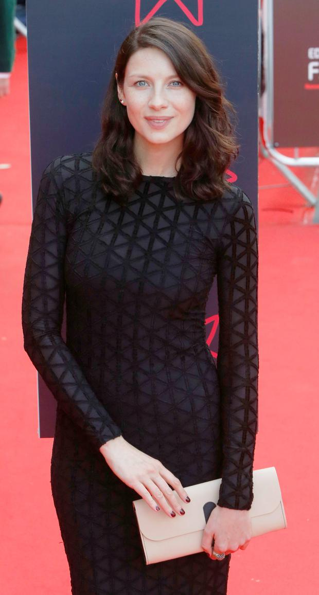 Caitriona Balfe arriving for the screening of The Legend of Barney Thomson on the opening night of the Edinburgh International Film Festival.