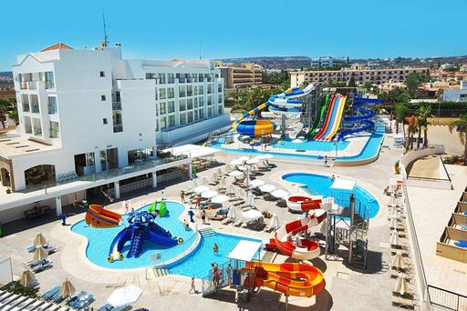 The Anastasia Beach Complex hotel in Protaras, eastern Cyprus Credit: Thomas Cook