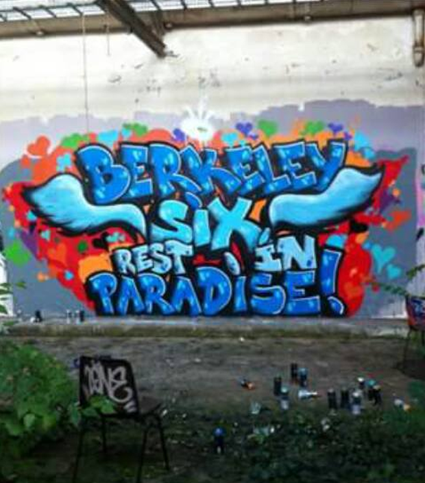 Sean Fahey posted this photo of graffiti to his Facebook page today. Photo: Facebook/Sean Fahey