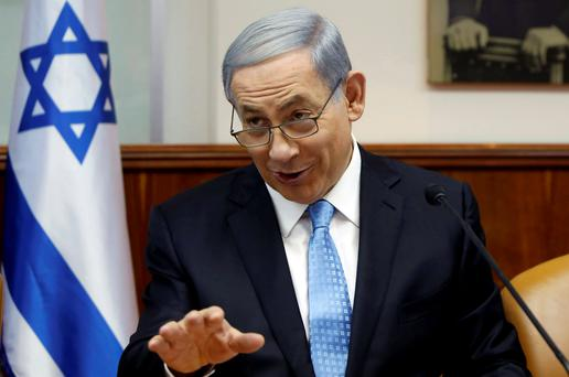 Prime Minister Benjamin Netanyahu backed extending the bill barring Palestinian spouses from Israel Credit: Gali Tibbon