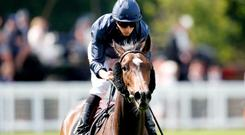 Curvy ridden by Ryan Moore wins the Ribblesdale Stakes