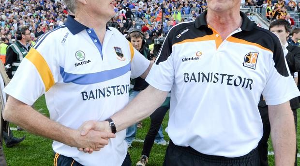 Brian Cody's men have survived the departure of big name stars before; Tipp boss Eamon O'Shea has seen incremental improvement under his watch SPORTSFILE