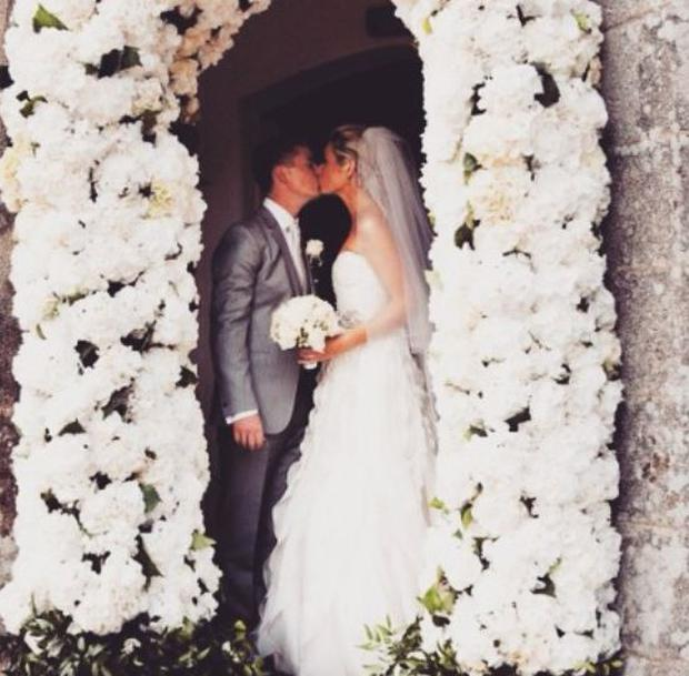 Pippa shared this snap of her wedding day (Photo: Instagram/Pippa O'Connor)
