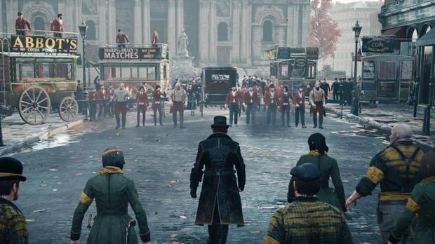 Assassin's Creed Syndicate: The mob-handed fight scene from the end of the demo
