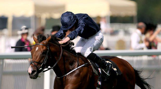 War Envoy ridden by Ryan Moore before winning the Britannia Stakes during Ladies Day, on day three of the 2015 Royal Ascot Meeting at Ascot Racecourse, Berkshire