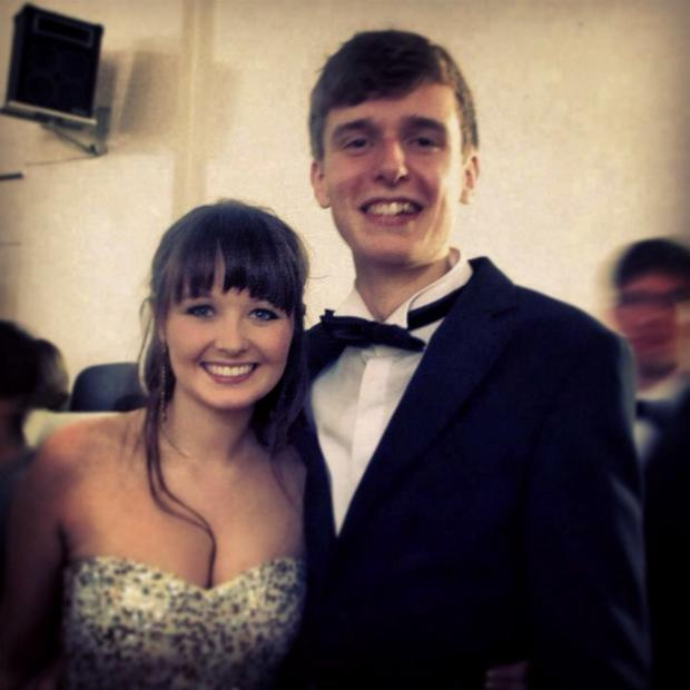 Katie Wolahan with Lorcan Miller