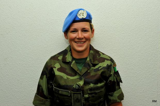 Private Emma Ging Credit: Irish Defense Forces