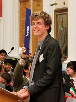 Lorcán Miller, one of the students who was killed in the Berkeley balcony collapse tragedy