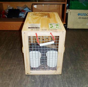 Parker, 43, used a pet transportation business as a cover for smuggling the high-purity drug, stashing it inside the crates used to carry the animals. Credit National Crime Agency/PA Wire