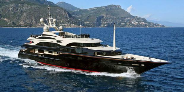 The luxury 'super yacht' Ulysses