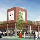 An artist's impression of the revamped Stillorgan shopping centre